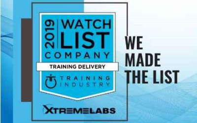 XtremeLabs Makes Training Industry Watch List!
