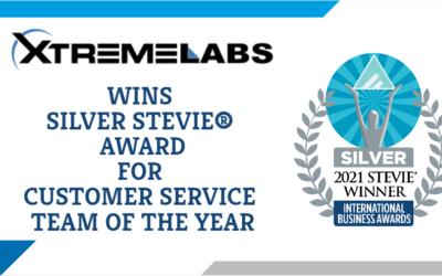 XtremeLabs WINS Silver STEVIE® AWARD IN 2021 INTERNATIONAL BUSINESS AWARDS®